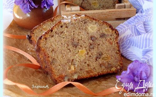 Рецепт Бананово-медовый кекс (Banana Honey Loaf)
