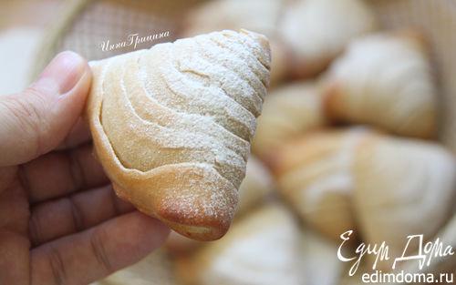 Рецепт Итальянские слоеные трубочки (Sfogliatella Riccia)