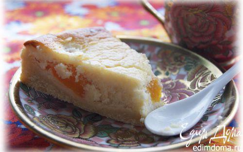 Рецепт Персиковый тарт с франжипаном