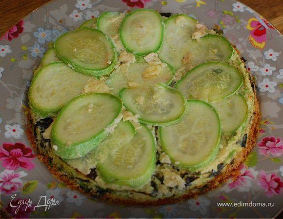 Итальянский пирог с кабачками