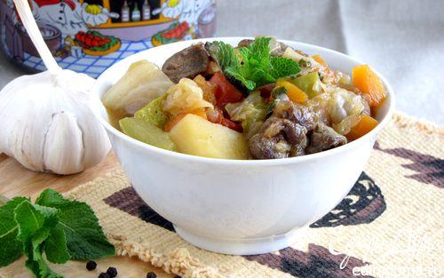 Рецепт Рагу из баранины по-ирландски