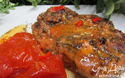 Рецепт Свинина, маринованная в томатном соке