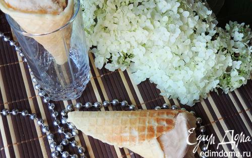 """Рецепт Мороженое """"Крем-брюле"""" (без яиц)"""