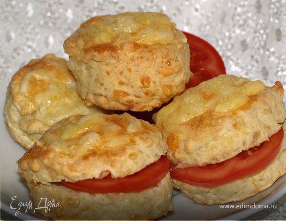 Английские сырные сконы (Scone)