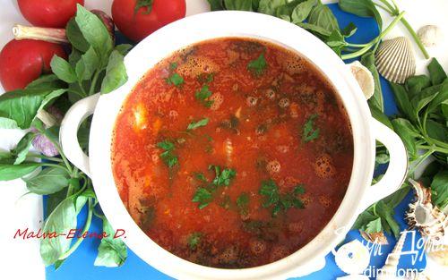 Рецепт Рыбная похлебка по-итальянски