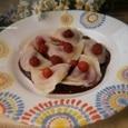 Вареники с вишней и ягодным соусом