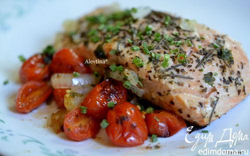 Рецепт Рыба красная по-средиземноморски
