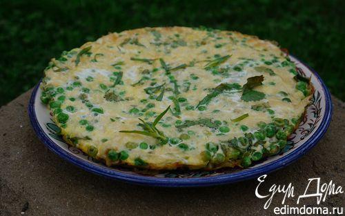 Рецепт Фриттата с зеленым горошком и картофелем
