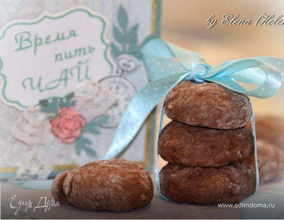 """Шоколадно-овсяное печенье """"Английское чаепитие"""""""