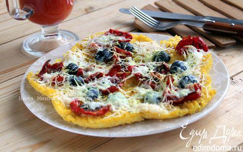Рецепт Полента с вялеными помидорами