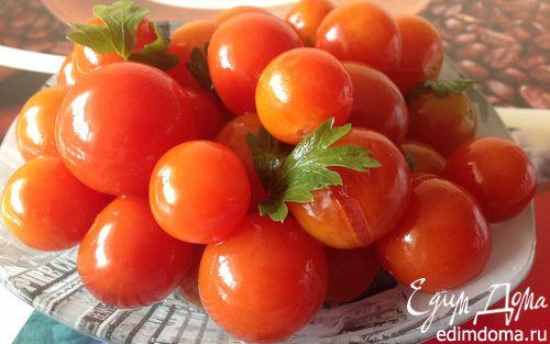 """Рецепт """"Быстрые"""" малосольные помидоры"""