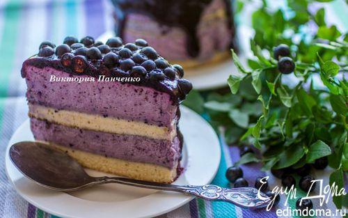 Рецепт Мини-торты с черничным муссом