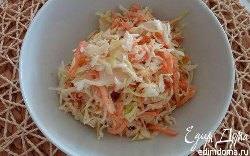 Рецепт Азиатский салат с капустой