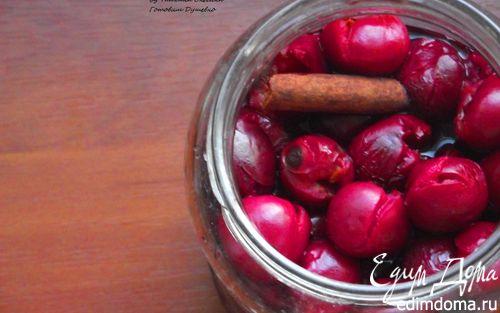 Рецепт Коктейльная вишня в домашних условиях