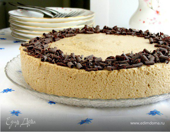 Торт с кофейным муссом