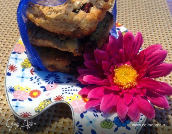 Клюквенное печенье с белым шоколадом (для Патриковой Дарьи)