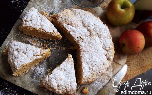 Рецепт Яблочно-овсяный пирог