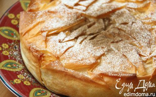 Рецепт Марокканский куриный пирог