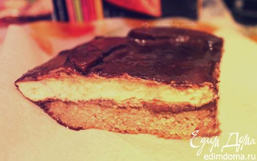 Рецепт Диетический творожный пирог с абрикосами в мультиварке