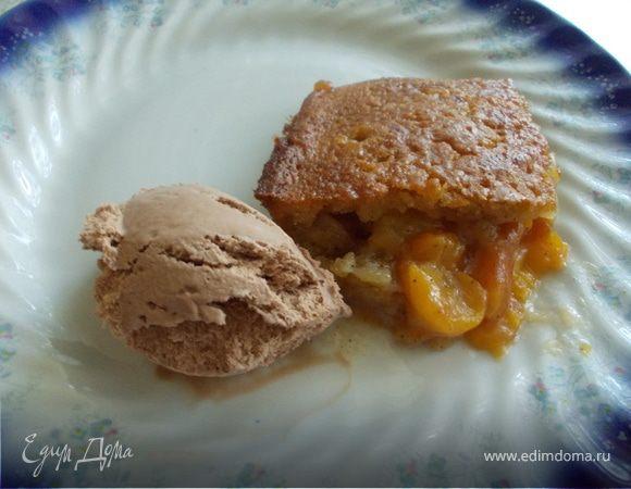 Персиковый Кобблер (Peach Cobbler)