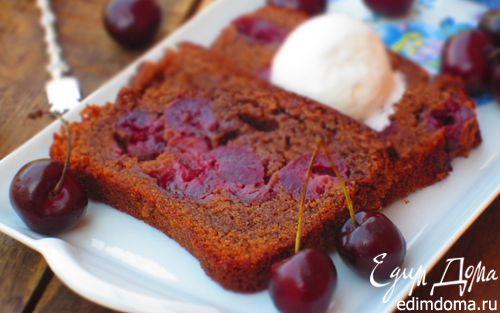 Рецепт Шоколадный кекс с черешней