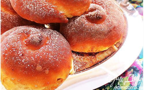 Рецепт Нежные воздушные булочки (Ensaimadas)