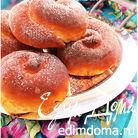 Нежные воздушные булочки (Ensaimadas)