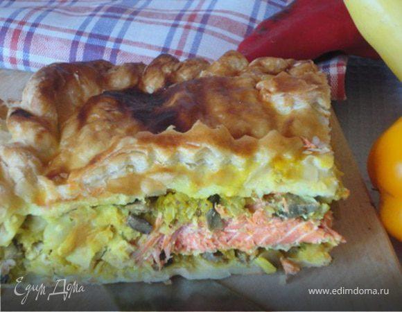Пирог с неркой
