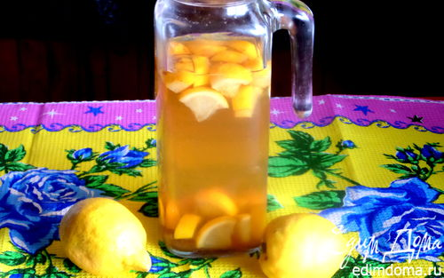 Рецепт Лимонад из зеленого чая