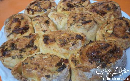 Рецепт Пирог-улитка из творожного теста