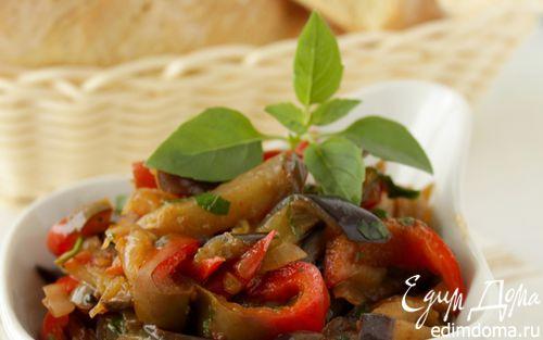 Рецепт Баклажаны по-корейски «Кадича»