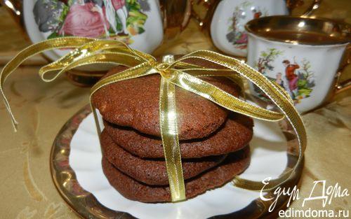 "Рецепт Печенье ""Шоколадное любимое"" (Easy Pudding Cookies)"
