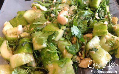 Рецепт Салат из битых огурцов