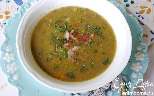 Рецепт Суп из чечевицы с имбирем и шалфеем