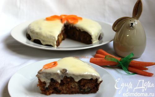 Рецепт Королевский морковный пирог