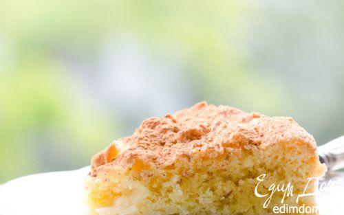Рецепт Воздушный яблочный пирог с миндалем
