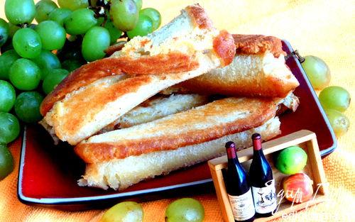 Рецепт Хлебные сырные трубочки