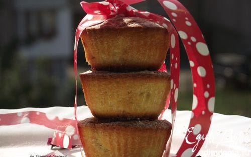 Рецепт Кексы с яблоками и корицей