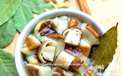 Рецепт Маринованные белые грибы