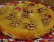 Яблочный пирог на простокваше