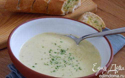 Рецепт Крем-суп из лука-порея и картофеля