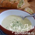 Крем-суп из лука-порея и картофеля