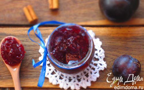 Рецепт Сливовый конфитюр с корицей и лимоном