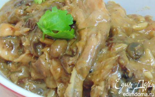 Рецепт Кролик в кисло-сладком соусе