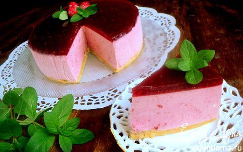 Рецепт Торт-суфле с малиной