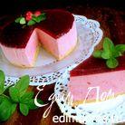 Торт-суфле с малиной