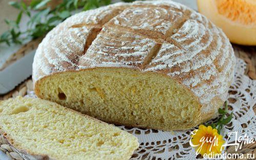 Рецепт Хлеб с тыквой, чесноком и перцем