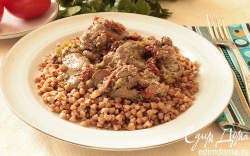 Рецепт Куриная печень в ароматном соусе