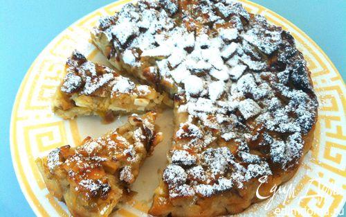 Рецепт Яблочный пирог с сыром уэнслидейл