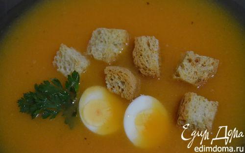 Рецепт Крем-суп из тыквы и цветной капусты